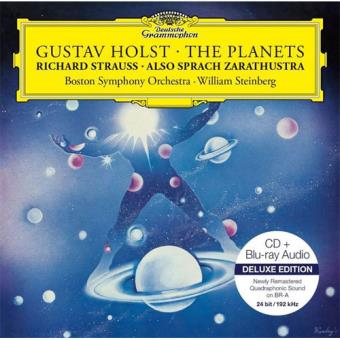 Holst: The Planets and R. Strauss: Also Sprach Zarathustra - CD + Blu-ray