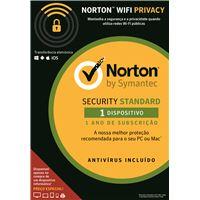 Norton Security Standard - 1 Dispositivo - 1 Ano