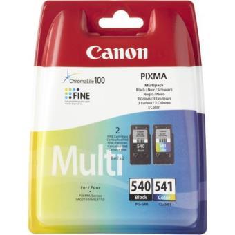 Canon Pack Tinteiro PG-540 Preto/CL-541 Cor
