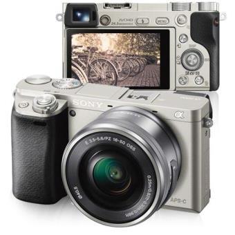 Sony Alpha α6000 + SEL1650 16-50mm f/3.5-5.6 PZ OSS (Prata)