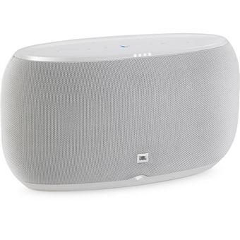 Coluna Bluetooth Jbl Link 500 com Google Assistant - Branco