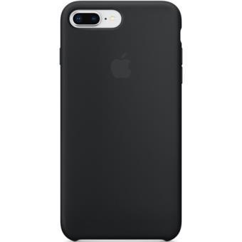 Capa Silicone Apple para iPhone 8 Plus | 7 Plus - Preto
