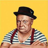 Poster Fisura Hipstory - Winston Churchill