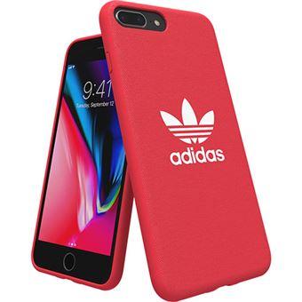 Capa Adidas Adicolor Moulded para iPhone 8 Plus - Vermelho