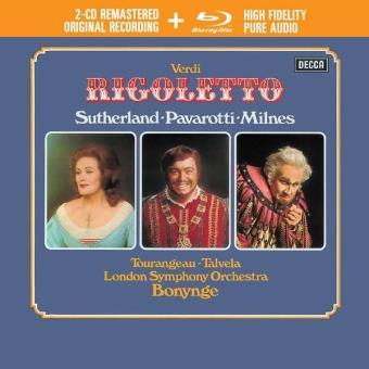 Verdi | Rigoletto (2CD+Audio Blu-ray)