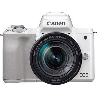Canon EOS M50 + EF-M 18-150mm f/3.5-6.3 IS STM - Branco | Preto