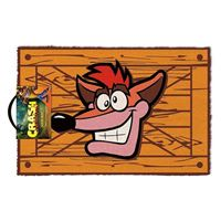Tapete de Porta Crash Bandicoot Extra Life Crate
