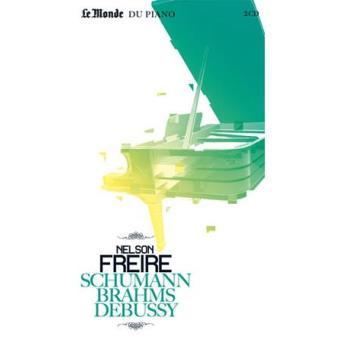Schumann, Brahms & Debussy (2CD+Livro)