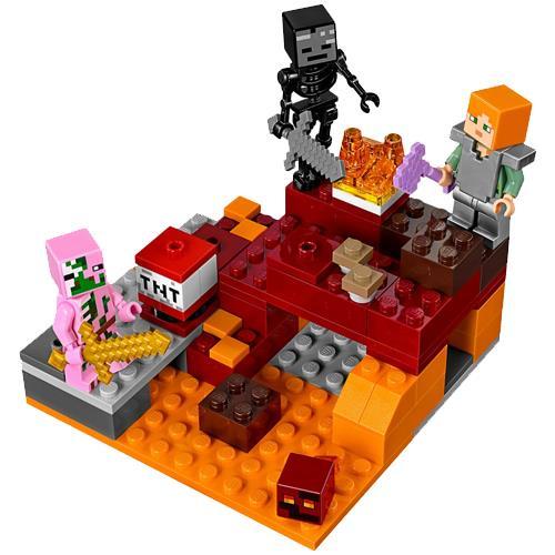 3625a593121b LEGO Minecraft 21139 O Combate do Nether - LEGO - Compra na Fnac.pt