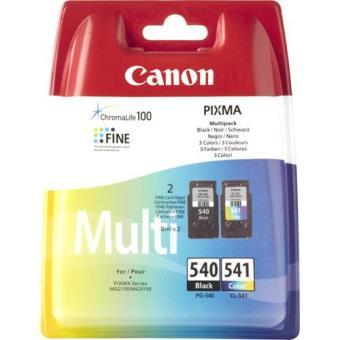 Canon Pack Tinteiros PG-540 Preto/CL-541 Cor