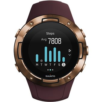 Relógio Desporto Suunto 5 - Burgundy Copper