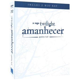 Pack A Saga Twilight: Amanhecer Parte 1 + 2 - Blu-ray