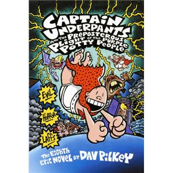 Captain Underpants and the Preposterous Plight of the Purple Potty People