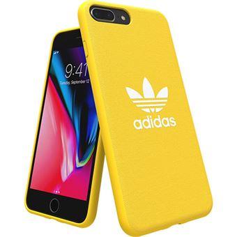 Capa Adidas Adicolor Moulded para iPhone 8 Plus - Amarelo