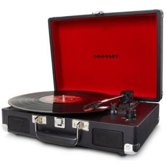 Crosley Cruiser Gira-discos - Preto
