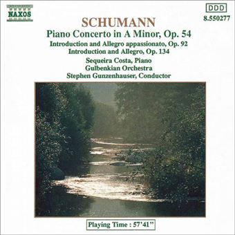 Schumann: Piano Concerto in A Minor - CD