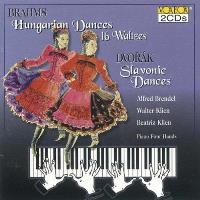 Brahms & Dvorak for Piano Four Hands