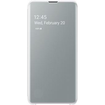Capa Samsung Clear View para Galaxy S10e - Branco