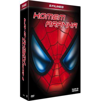 Coleção Homem Aranha (5 DVD's)