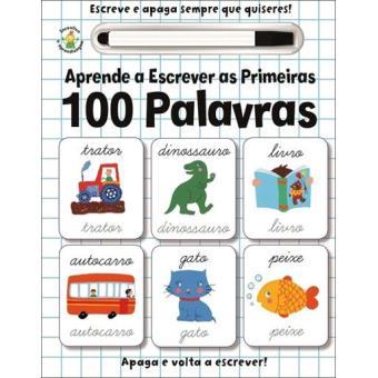 Aprende a Escrever as Primeiras 100 Palavras