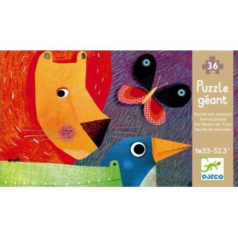 Puzzle Gigante - Desfile dos Animais