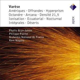 Varèse: Orchestral Works - CD