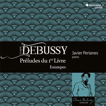 Debussy: Preludes du 1er Livre & Estampes - CD