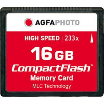 Compact Flash Agfa 233x 16GB 35MB/s