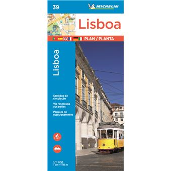 Mapa Michelin Planta 39 - Lisboa