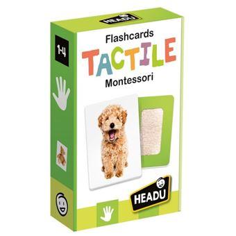 Flashcards Tactile Montessori