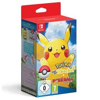 Pokémon: Let's Go Pikachu! + Poké Ball Plus - Nintendo Switch