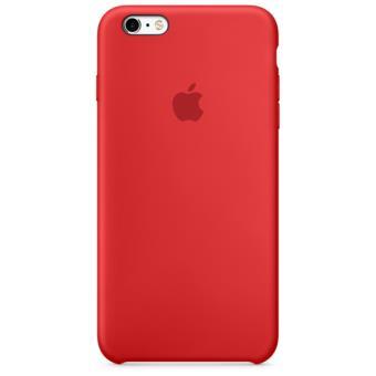 Apple Capa Silicone para iPhone 6s Plus | 6 Plus (Vermelho)