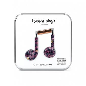 Auriculares Happy Plugs Earbud Plus - Hawaiian Nights