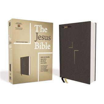 Jesus bible, esv edition, cloth ove