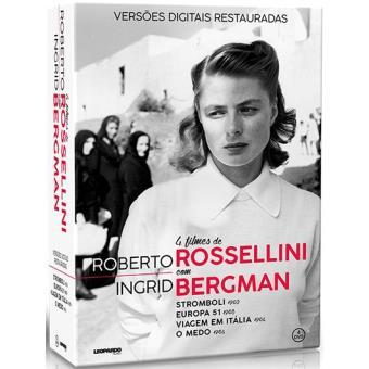 Pack Roberto Rossellini + Ingrid Bergman
