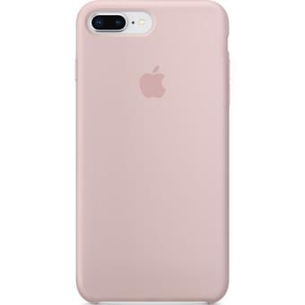 Capa Silicone Apple para iPhone 8 Plus | 7 Plus - Rosa Areia
