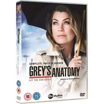 Grey's Anatomy - Season 12 - DVD Importação