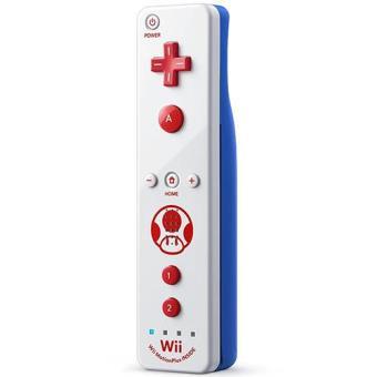 Wii / Wii U Remote Plus - Edição Especial Toad