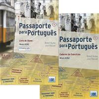 Passaporte Para Português 1: Livro do Aluno +  Caderno de Exercícios - QECR Níveis A1/A2