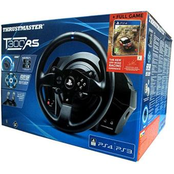 Pack Volante Thrustmaster T300 RS + Sébastien Loeb Rally Evo PS4