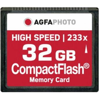 Compact Flash Agfa 233x 32GB 35MB/s