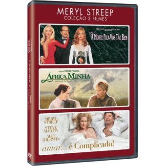 Coleção 3 Filmes - Meryl Streep