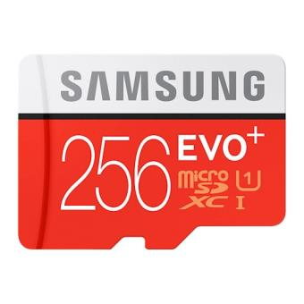 Samsung EVO Plus MB-MC256D 256GB MicroSDXC UHS-I Class 10 cartão de memória