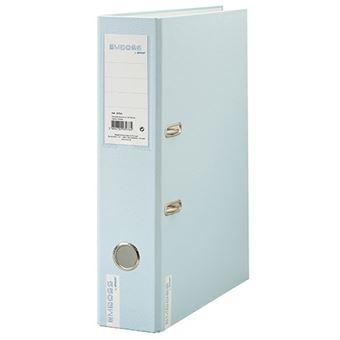 Dossier 2 Argolas Ancor Emboss Soft Colours A4 Azul