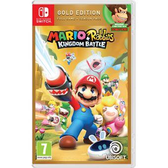 Mario + Rabbids Kingdom Battle Gold Edition - Nintendo Switch