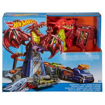 Hot Wheels Ataque do Dragão - Mattel