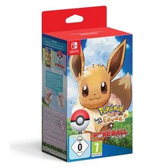 Pokémon: Let's Go Eevee + Poké Ball Plus - Nintendo Switch