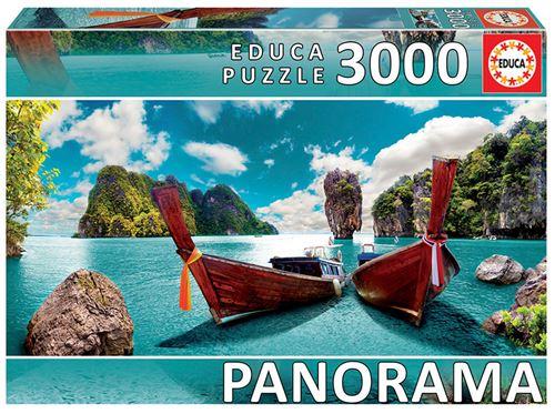 JOGOS E BRINQUEDOS KIDS - Puzzle Phuket Tailandia Panorama 3000 Peças
