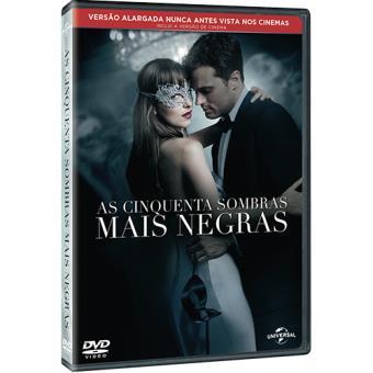 As Cinquenta Sombras Mais Negras (DVD)