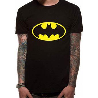 T-Shirt Batman Logo - Tamanho M